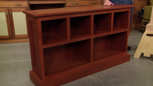 This Woodsmith Video Plan Includes A Able Printed Plus An Online Low Cherry Bookcase